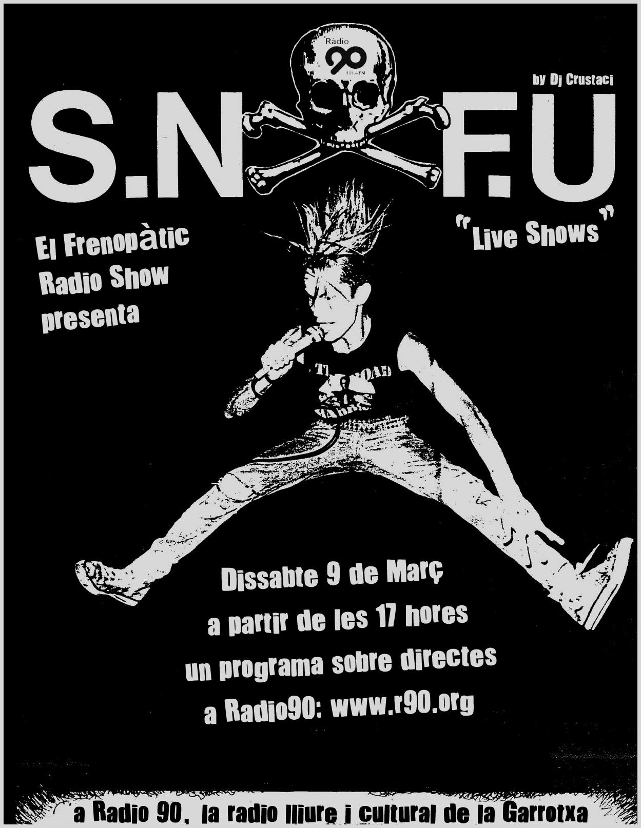 SNFU live radio90