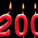 twenty anniversary